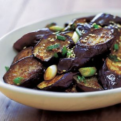 Stir-Fried Sesame Eggplant