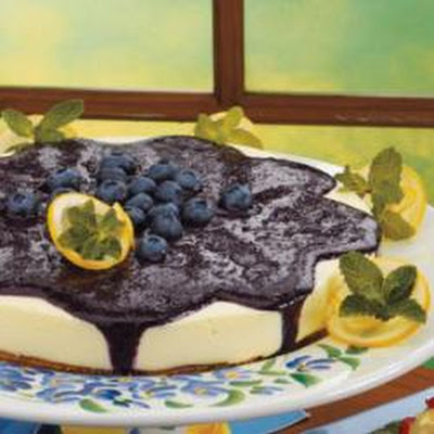 Lemon Blueberry Cheesecake