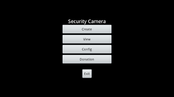 Screenshot of MotionDetection SecurityCamera