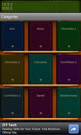 holy-bible for android screenshot