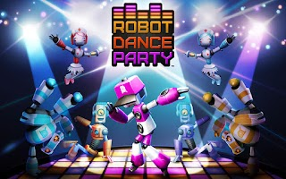 Screenshot of Robot Dance Party