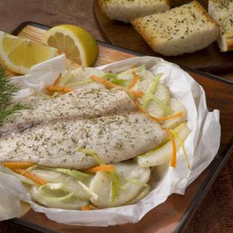 Baked Tilapia with Garlic Butter