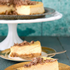 Irish Whiskey and Baileys Cheesecake