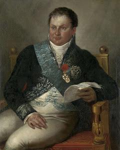 RIJKS: Mattheus Ignatius van Bree: Portrait of Isaac Jan Alexander Gogel 1813