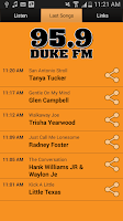 Screenshot of 95.9 Duke FM