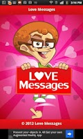 Screenshot of Love SMS Messages - English