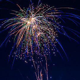 Streaking by Shawn Klawitter - Abstract Fire & Fireworks ( sky, colorful, fireworks, 4th of july, night, watkins glenn )