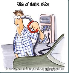 Raise of petrol price