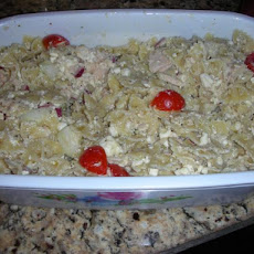 Greek-Style Tuna and Bow Tie Pasta Salad
