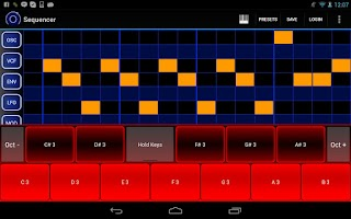 Screenshot of Heat Synthesizer Pro BETA