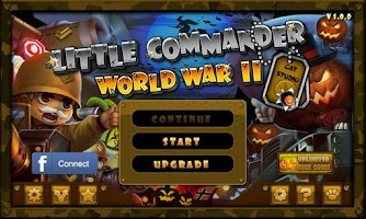 Screenshot of Little Commander WW2 Halloween