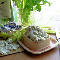 Auld Alliance: Potted French Blue Cheese and Scotch Whisky Pate
