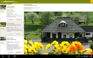Screenshot of laPensiuni.ro