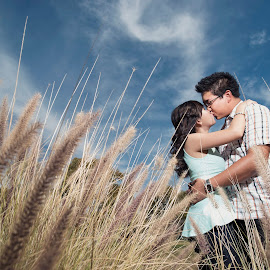 Love is the beauty of the soul by Yansen Setiawan - Wedding Other ( creative, art, losangeles, illusion, love, kiss, blue sky, yansensetiawanphotography, fineart, prewedding, d800, wedding, lifestyle, la, photographer, yansensetiawan, nikon, yansen, engagement )
