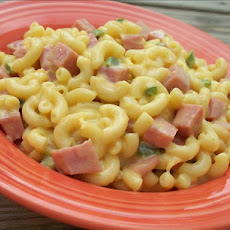 Ham and Pineapple Macaroni and Cheese