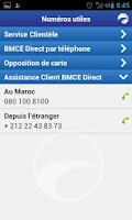 Screenshot of BMCE Direct