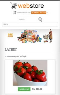 Online Grocery Store - screenshot