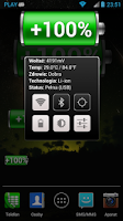 Screenshot of Battery Widget Classic