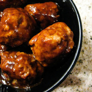 Glazed Turkey Meatballs