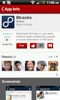 Screenshot of AppLuvr: apps your friends use