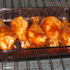 Super Easy Barbecue Chicken Drumsticks & Thighs