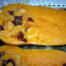 Fruity Stuffed Butternut Squash