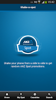 Screenshot of ANZ Spot
