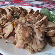 Marinated BBQ Pork Tenderloin