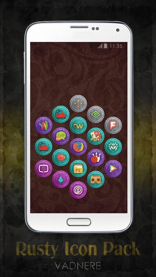 Rusty Icon Pack TSF Nova Apex Screenshot 13