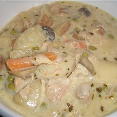 Creamy Homemade Chicken Stew