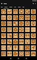 Screenshot of Wood - Icon Pack