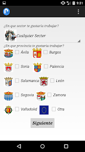 EmpleoAquí Datos abiertos ECYL - screenshot