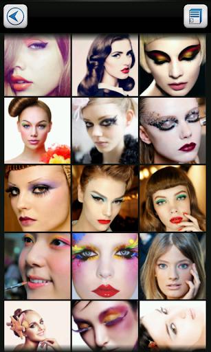 Модной макияж от розы игры