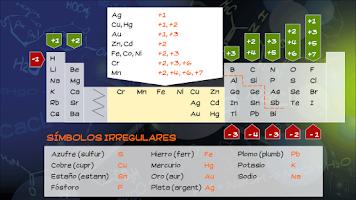Screenshot of A formular (química) - Free
