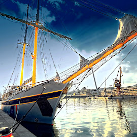 Kraljica mora by Tihomir Beller - Transportation Boats