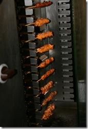 一堆烤肉串