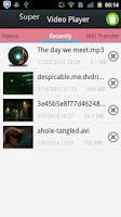 Screenshot of Super Video Player