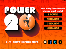 Screenshot of Power 20's 7 Minute Workout