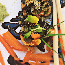 Sweet Potato Vegan Sushi Rolls