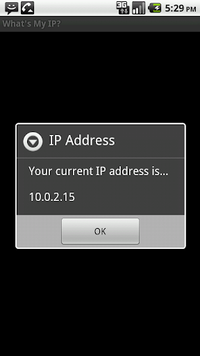 What's My IP