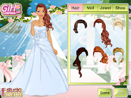 Screenshot of Fashion Studio Wedding Dress