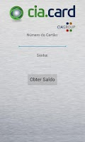 Screenshot of Cia.Card - Consulta de Saldo