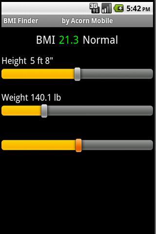 BMI Finder