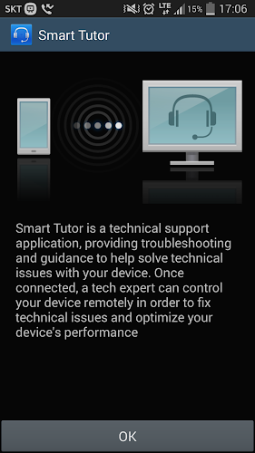 Smart Tutor for SAMSUNG Mobile Android App Screenshot