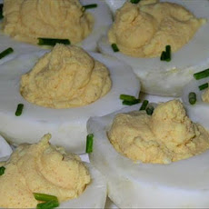 Lemon-Curry Deviled Eggs