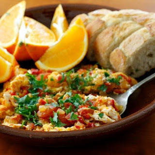 Turkish Eggs Tomatoes Recipes