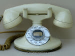 Cradle Phones - Western Electric 202 Ivory F Handset