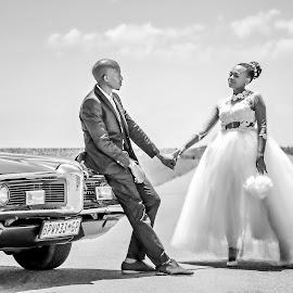 Bride and Groom 2 by Matt Stern - Wedding Bride & Groom ( african wedding, #mattsternphotography, matt stern, matt stern photography, wedding, www.mattsterntalents.com, south africa, matt stern talents, wedding photographer, bride and groom, traditional african wedding )