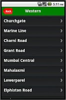 Screenshot of Mumbai Station History