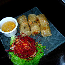Spring Rolls with Shrimp-Vegetable Filling